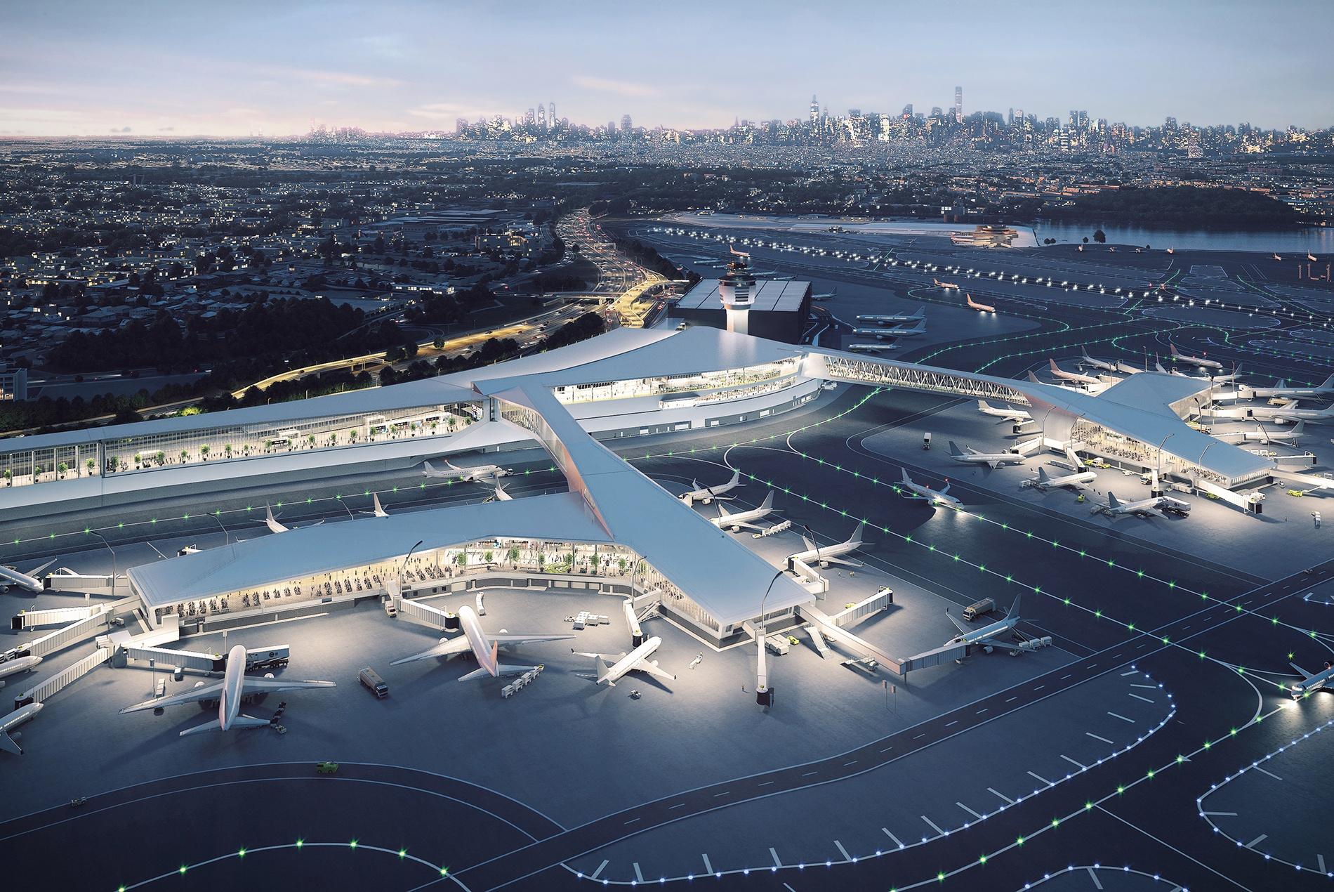 LaGuardia Airport Terminal B HOK