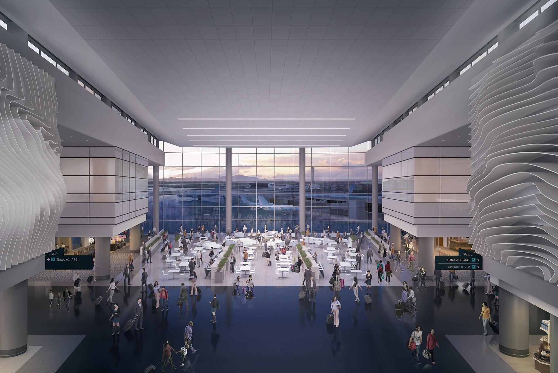 Salt Lake City International Airport Passenger Terminal Hok